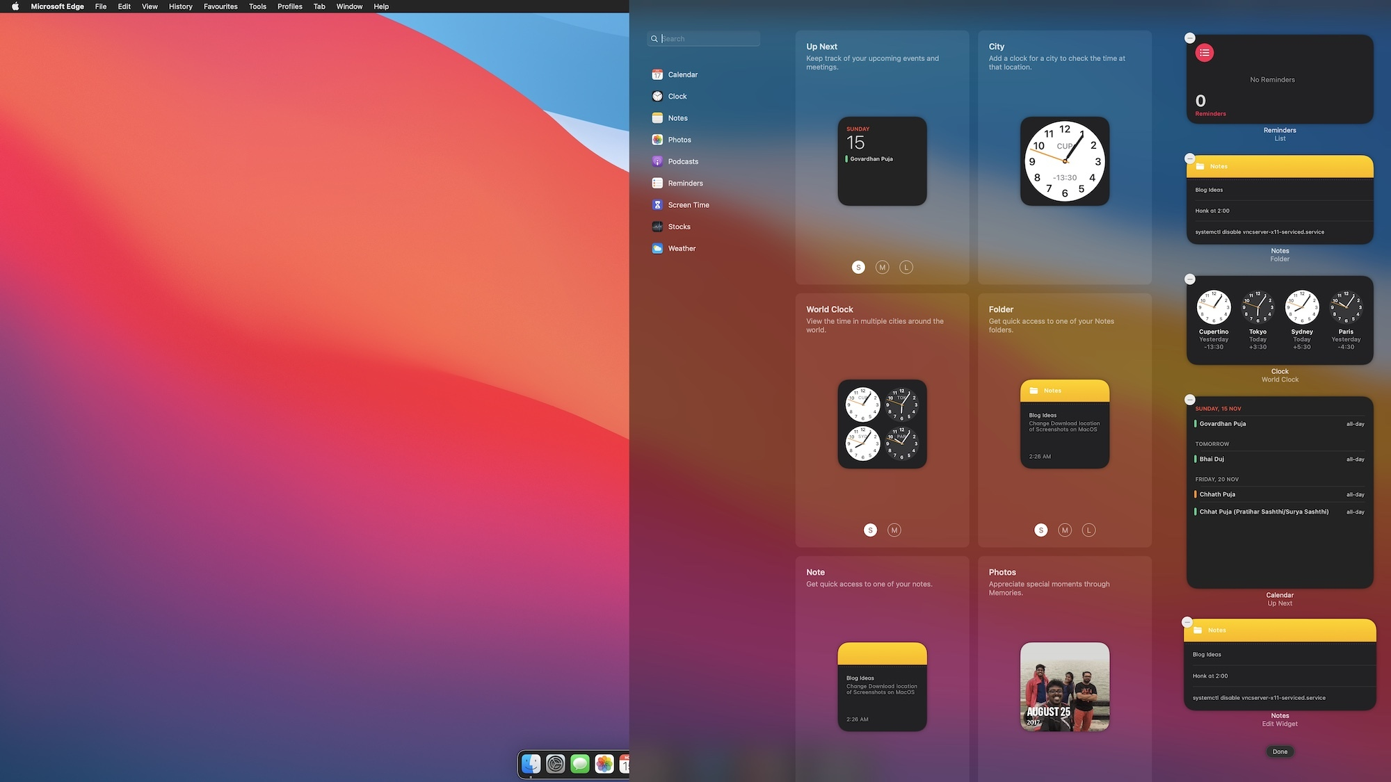 How to Remove Widgets from Notification Center on Mac