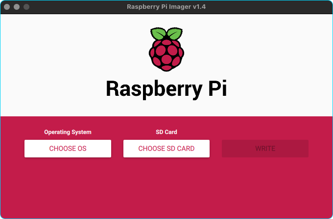 Raspbery Pi Imager in Action